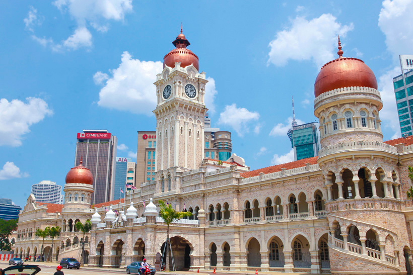 Image result for Sultan Abdul Samad clock tower